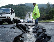 Varias ciudades no han sido diseñadas para soportar las precipitaciones actuales. (Foto Prensa Libre: Hemeroteca PL)