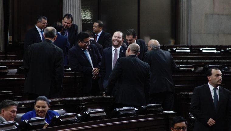 Congreso aprobó la aceptación de cargos el 12 de noviembre de 2019. (Foto Prensa Libre: Hemeroteca PL)