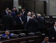 De la actual legislatura 110 diputados ya no regresarán después del 14 de enero. (Foto Prensa Libre: Hemeroteca PL)