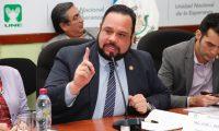 Ministro de Comunicaciones, José Luis Benito, dice que el 79 por ciento de las carrteras se encuentra en buenas condiciones. (Foto Prensa Libre: Noe Medina)