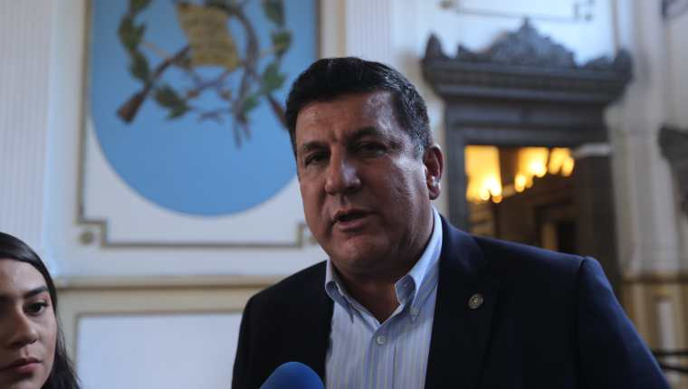 El diputado Estuardo Galdámez está señalado en dos casos de corrupción. (Foto Prensa Libre; Hemeroteca)