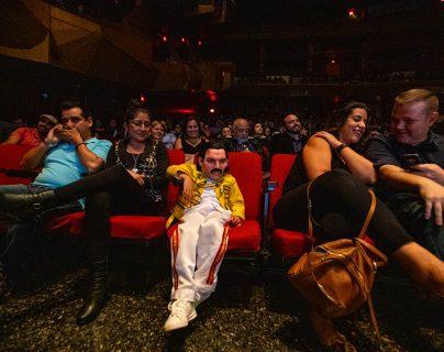 Una excelente presentación en el tributo a la banda británica Queen de parte de la Sinfónica Nacional. Fotografía Prensa Libre: Juan Diego González