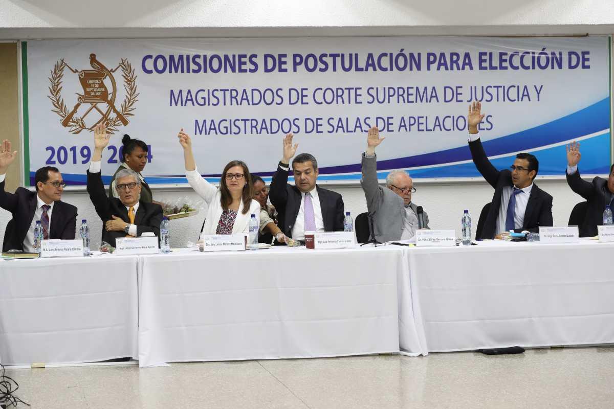 Jueces no avalan su exclusión para postularse a magistrados de Corte Suprema de Justicia
