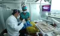 Kyrios Dental.  Dentistas realizan limpieza dental a Pacientes .                       Fotograf'a Esbin Garc'a 16-05-2019
