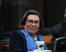 La excandidata a la presidencia por la UNE, Sandra Torres, tenía prohibido acercarse a su partido. (Foto Prensa Libre: Hemeroteca PL)   Fotograf'a Erick Avila                  16/10/2019