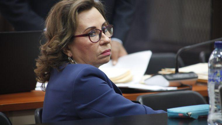 Sandra Torres, excandidata presidencial de la UNE. (Foto Prensa Libre: Hemeroteca PL)