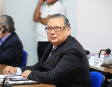 El exvicepresidente Alfonso Fuentes Soria fue electo presidente de la Junta Directiva del Parlacén, que deberá definir la fecha de la primera asamblea plenaria del 2020. (Foto Prensa Libre: Carlos Hernández)