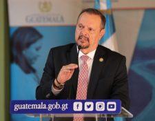 El exministro de Salud Carlos Soto es buscado por la Fiscalía contra la corrupción, del MP. (Foto Prensa Libre: Hemeroteca PL)