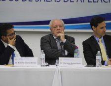 La Comisión de Postulación para elección de magistrados de CSJ no llega a consensos para modificar la tabla de gradación. (Foto Prensa Libre: Hemeroteca PL)