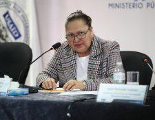 María Consuelo Porras, fiscal general. solicita socializar la propuesta de reformas a la Constitución. (Foto Prensa Libre: Hemeroteca PL)