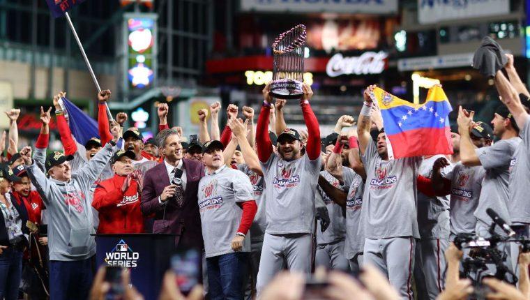 Resultado de imagen para ¡Nationals se coronan campeones de las Grandes Ligas!