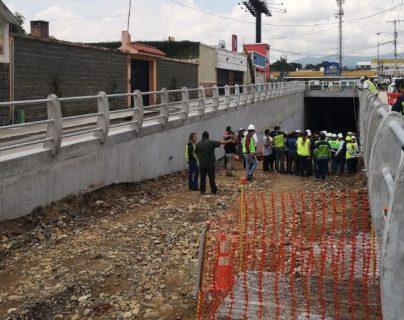 Paso a desnivel en la avenida Petapa y 35 calle será inaugurado este 25 de noviembre