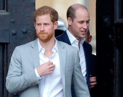 Este episodio alienta los rumores sobre las diferencias que han distanciado a los príncipes Enrique y Guillermo. (Foto Prensa Libre: Hemeroteca PL)