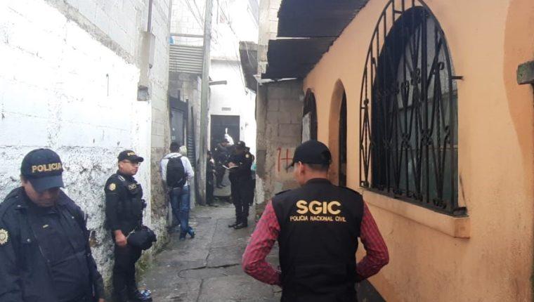 Los operativos contra extorsiones se llevan a cabo en varios puntos del país. (Foto Prensa Libre: PNC)
