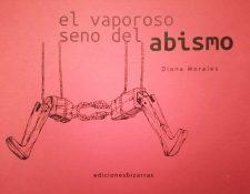 Portada del libro 'El vaporoso seno del abismo'. (Foto Prensa Libre: Cortesía Diana Morales).