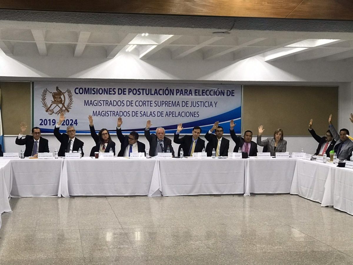 Postuladora para elegir magistrados de la CSJ suspende sesiones