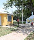 Varias casas que tenían filtraciones han sido reparadas, aseguran residentes. (Foto Prensa Libre: Carlos Paredes)