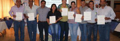 La capacitación está dirigida a los nuevos jefes ediles, desconocen sobre administración pública. (Foto Prensa Libre: Carlos Paredes)