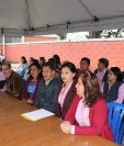 Autoridades del Instituto Francisco Jiménez argumentan que en terrenos del centro educativo no se puede construir otro edificio que no sea para uso exclusivo de los estudiantes. (Foto Prensa Libre: Héctor Cordero)