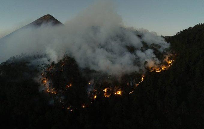 En cuatro departamentos del occidente este año se reportaron más de 200 incendios forestales. (Foto Prensa Libre: Hemeroteca PL)