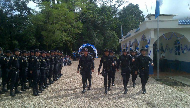 La Policía Nacional Civil regresará a San Mateo Ixtatán y Santa Cruz Barrillas Huehuetenango, informó el MInisterio de  Gobernación. (Foto  ilustrativa Prensa LIbre: Hemeroteca PL)