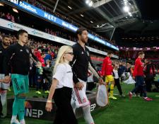 Sergio Ramos se convierte en el futbolistas que más ha participado con la Selección de España. (Foto Prensa Libre: Federación Española de Futbol)