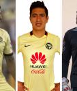 Érik Pimentel, Jesús Moreno y Matías Dragui, los nuevos refuerzos de Deportivo Mixco. (Foto Prensa Libre: Redes)