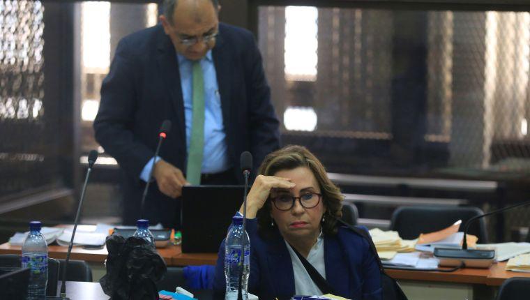 Sandra Torres, fue capturada en septiembre del 2019, y un mes después fue internada en un hospital en privado. (Foto, Prensa Libre: Hemeroteca PL).