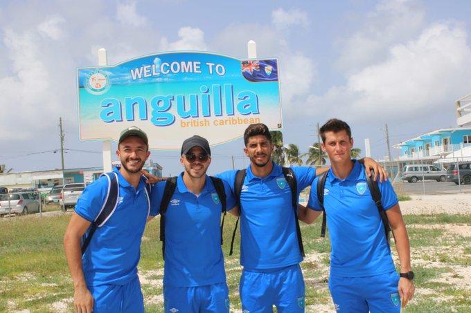Selección Nacional se instala en Anguila