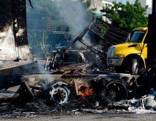 El operativo, que en apariencia tenía como objetivo detener al hijo de el Chapo Guzmán, dejó destrozos en Culiacán, Sinaloa.