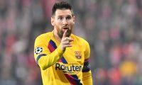 Lionel Messi es la figura del Barcelona. (Foto Prensa Libre: AFP)