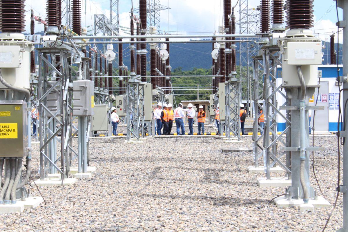 Entra en operación nueva red eléctrica para conectar suroriente con línea centroamericana