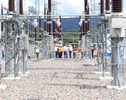 La subestación, con capacidad para 230 kilovoltios, está  en la Finca Cerro Redondo en Barberena, Santa Rosa. (Foto, Prensa Libre: Trecsa).