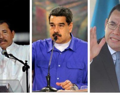 La SIP hizo un llamado a los presidentes Daniel Ortega, Nicolás Maduro y Jimmy Morales para que respeten el trabajo de la prensa en sus países. (Foto Prensa Libre)