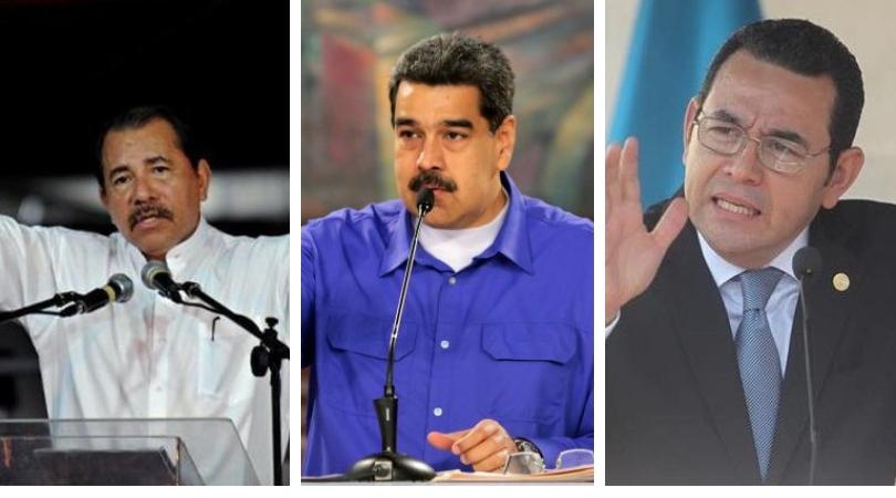 SIP pide a Daniel Ortega, Nicolás Maduro y Jimmy Morales que cesen ataques a la prensa