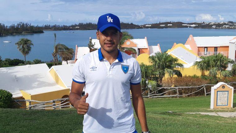 Víctor Guay en su debut frente a Anguila, fue uno de los mejores jugadores de la Bicolor. Dio la asistencia en el primer gol. (Foto Prensa Libre)