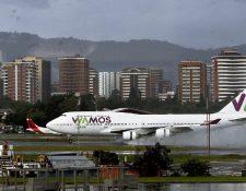 Wamos Air voló la ruta de España a Guatemala en el 2017 y 2018. (Foto, Prensa Libre: Hemeroteca PL).