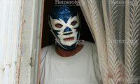 Rayo Chapín con su emblemática máscara. (Foto Prensa Libre: Hemeroteca PL)