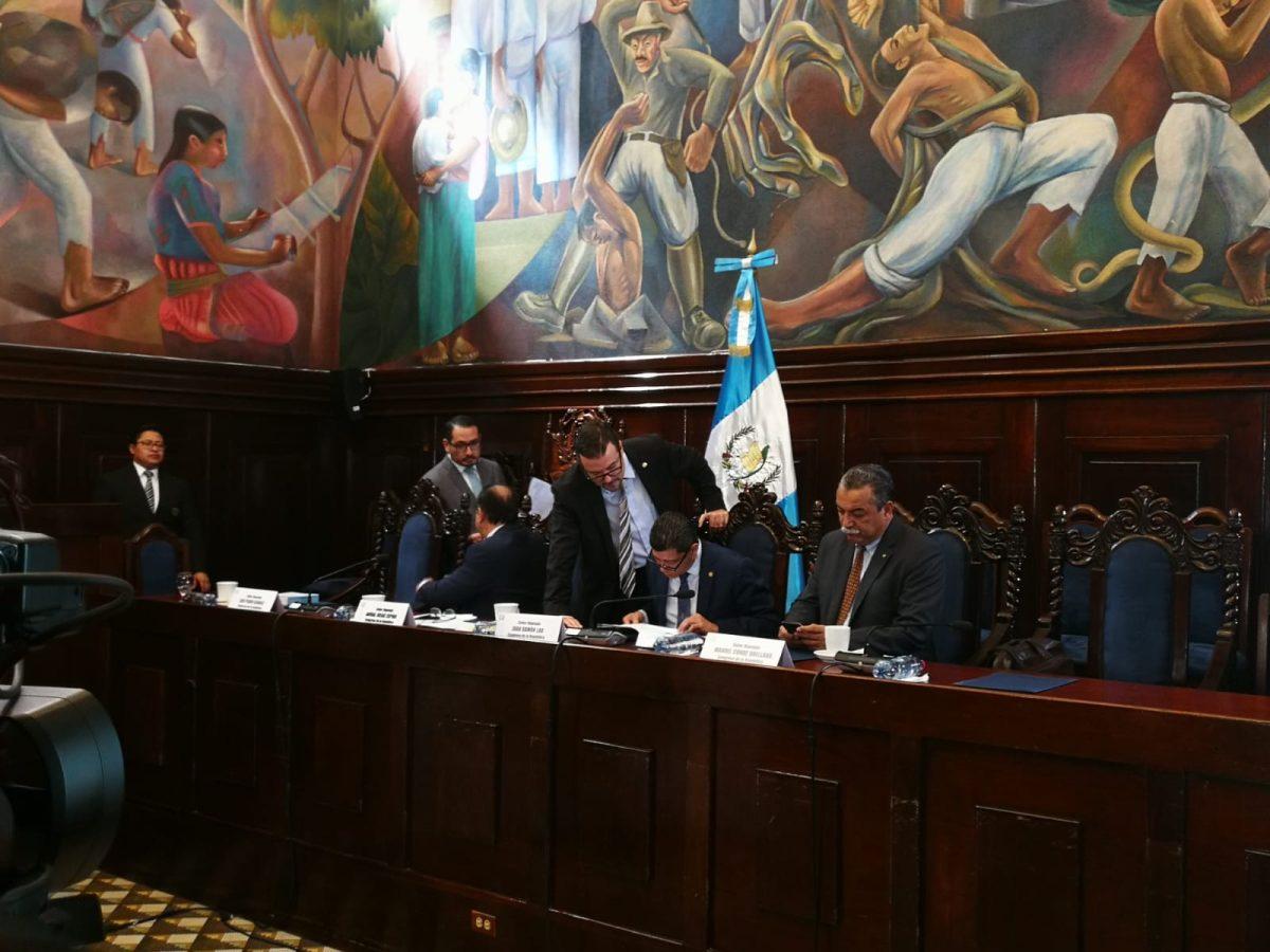 Diputados insistirán en crear comisión para que escuche a supuestas víctimas de la Cicig