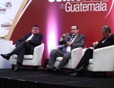 Alejandro Giammattei aseguró que derogará el acuerdo que prohíbe los plásticos el próximo 14 de enero. (Foto Prensa Libre: Carlos Hernández Ovalle)