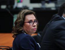 Sandra Torres fue ligada a proceso por asociación ilícita. (Foto Prensa Libre:  Erick Ávila)