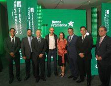 Banco Promerica presentó la alianza con Visa y Star Alliance. Foto Prensa Libre: Norvin Mendoza