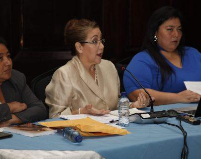 Blanca Stalling denunció a la Cicig ante la comisión de la verdad del Congreso. (Foto Prensa Libre: Noé Medina)