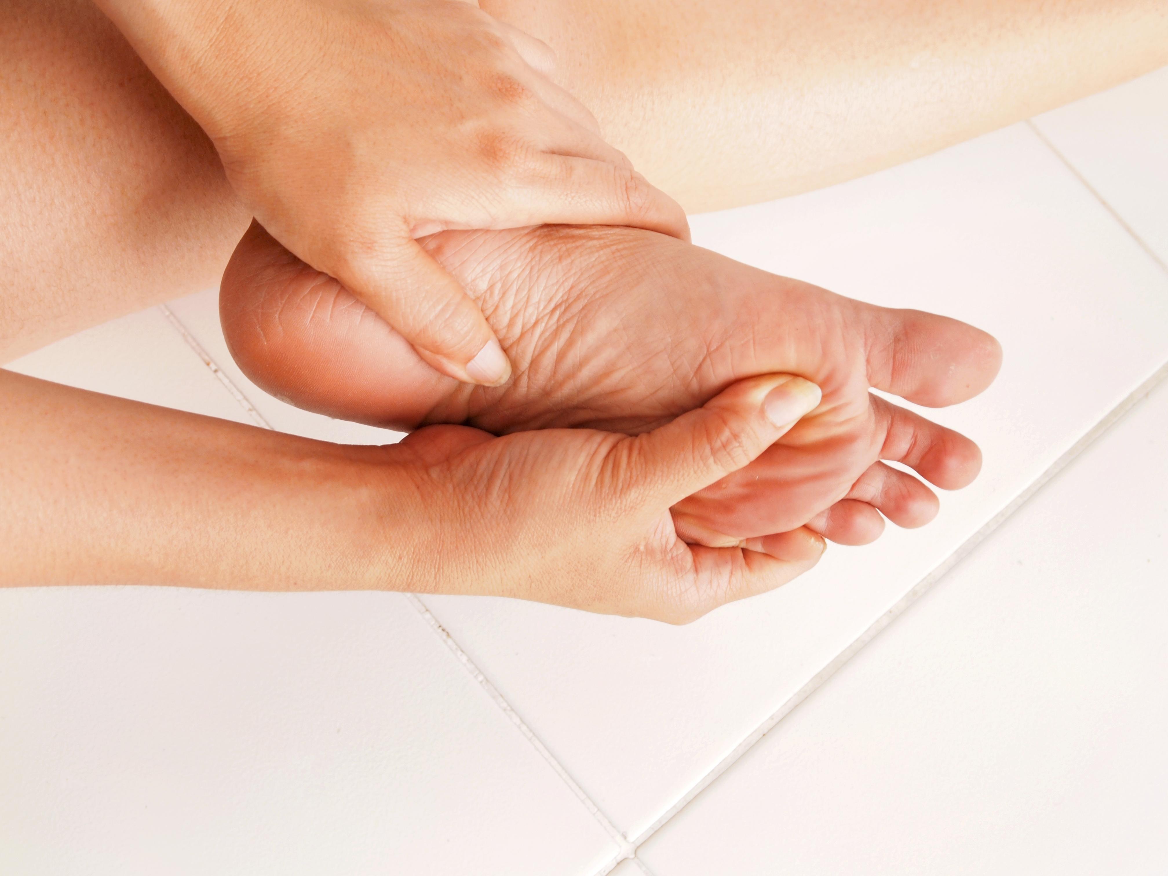 problemas del pie plantar con diabetes