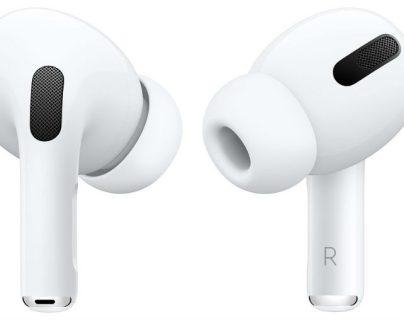 """Apple promociona una versión """"pro"""" de los AirPods con cancelación de ruido. (Foto Prensa Libre: Apple)"""