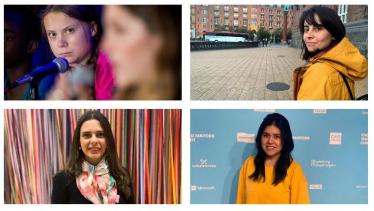 Jóvenes activistas destacan en América Latina y defienden el medio ambiente. (Foto Prensa Libre: EFE)