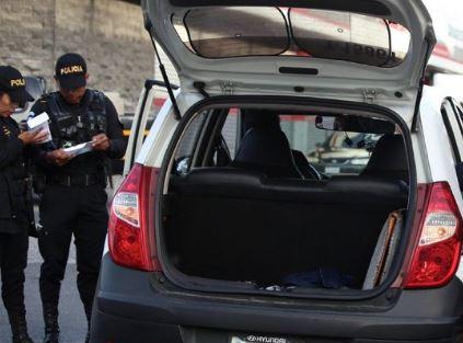In fraganti: capturan a dos trabajadores del MP cuando recogían supuesto pago por extorsión