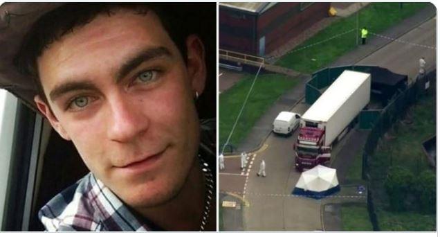 Quién es Mo Robinson, el sospechoso de la muerte de 39 personas halladas dentro de un contenedor en Inglaterra