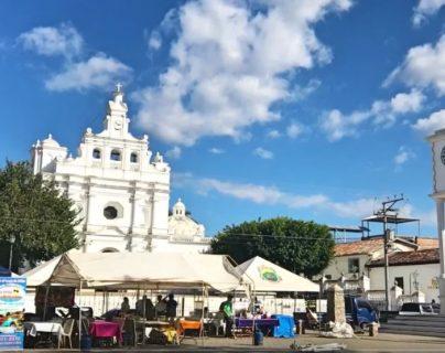 La imagen fue robada del templo de San Pedro Apóstol, de Metapán, El Salvador. (Foto: captura de YouTube)