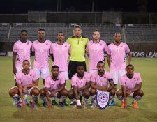 Este es el equipo de Bermuda que enfrentó a Guatemala. (Foto Prensa Libre: Federación de Bermuda)